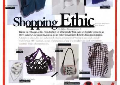 La revue du salon du Pret-a-Porter Paris intègre des accessoires IFASSEN dans sa revue